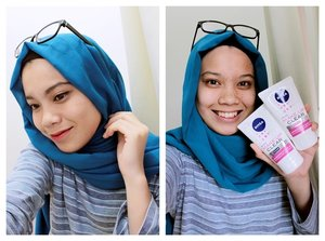 Use NIVEA Make Up Clear which comes in two variants; Make Up Clear White Oil Control 2in1 and Make Up Clear White 2in1 and I challenge you to participate the #CleansedbyNIVEA challenge and win NIVEA products and a chance to join an exclusive day with Bubah Alfian! Click here for more info: https://www.instagram.com/p/BEoDqhl/ 💋💋